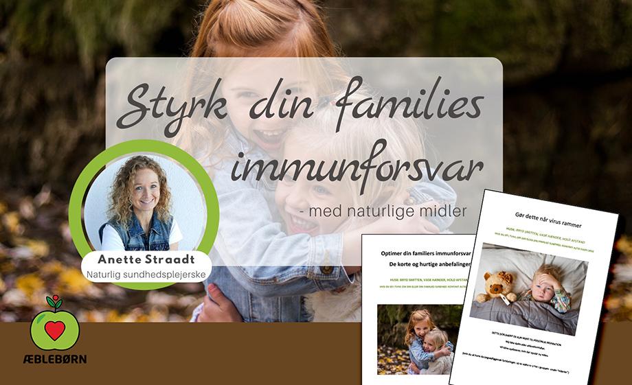 Æble børn styrk din families immunforsvar